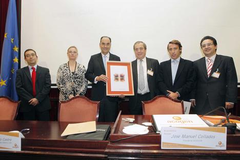 Entrega de la distinción de cogenerador de honor a Vidal-Quadras