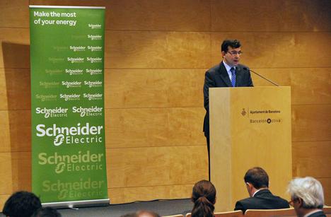 José Miguel Solans durante la presentación