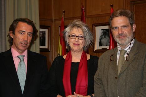 Alfonso Beltrán, Pilar Pereda y José A: Granero