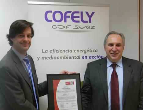Certificación ISO 50001 obtenida por Cofely