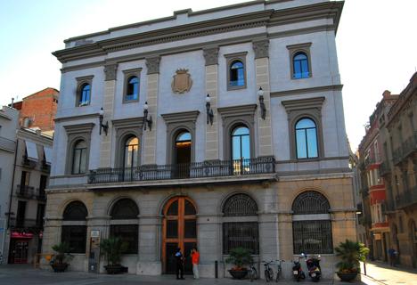 Fachada del Ayuntamiento de Igualada