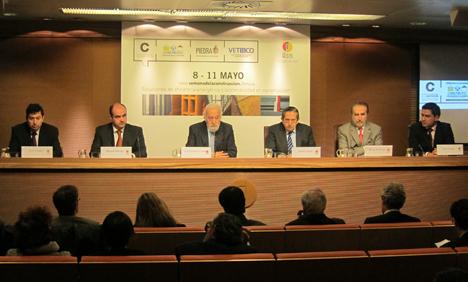 Presentación Semana Internacional de la Construción en IFEMA, Madrid