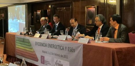 De izquierda a derecha, Michel María, Raúl Arroita, Juan Layda, Teo López y Carlos Álvarez