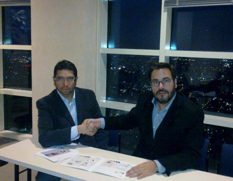 Raúl Huitrón, Director Genral de Biomah y Florencio Manteca, Director del Departamento de Eenrgía Edificatoria de CENER