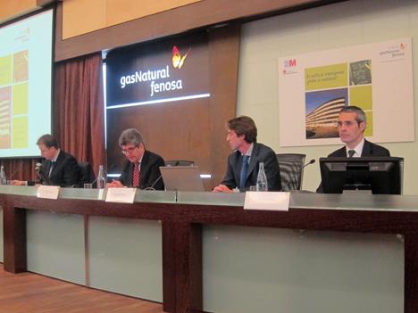 J.Javier alonso, Urbaser, Manuel Ludevid, Fundación Gas Natural Fenosa, Marcos tejerina, Meliá Hoteles y Jaume Miró, Gas Natural Fenosa