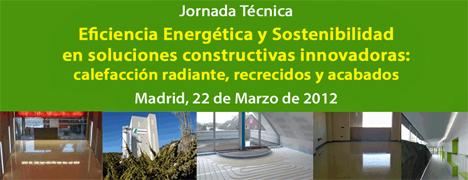 Jornada Eficiencia Energética y Sostenibilidad en Soluciones Constructivas Innovadoras
