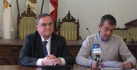 Los responsables de Portugalete y Hondarribia