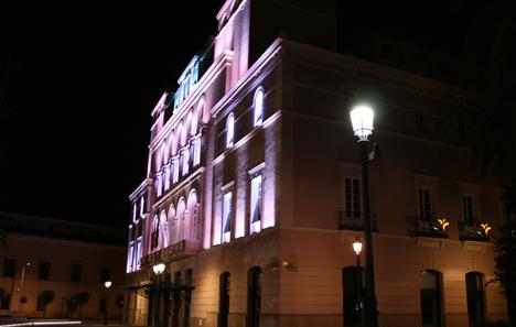 Fachada Teatro López de Ayala