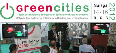 Greencities, Malaga 14-16 de noviembre 2012
