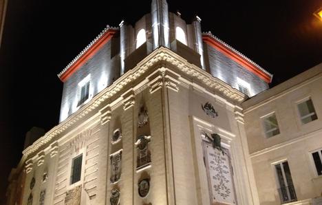 Iluminación LED Oratorio San Felipe Neri de Cádiz