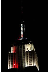 Iluminación LED de Philips en el Empire State Buiding