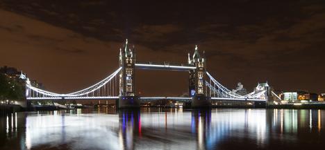 Torre de Londres iluminada con GE Lighting