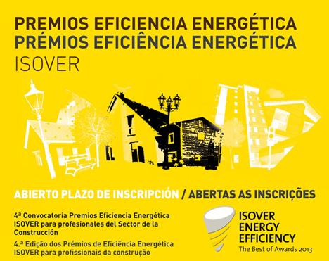 Cartel premio Eficiencia Energética ISOVER
