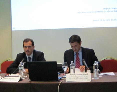 Rafael Herrero junto a Pedro Antonio Prieto