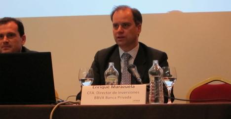 Enrique Marazuela, CFA (Chartered Financial Analyst) y Director de Inversiones de BBVA Banca Privada