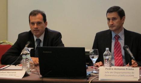 Rafael Herrero y Pedro Antonio Prieto