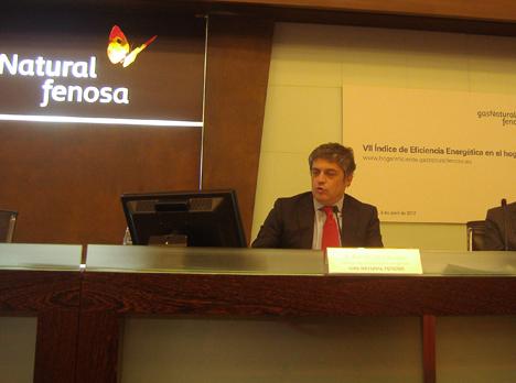 Ramón Silva, Responsable del Centro de Eficiencia Energética de Gas Natural Fenosa.