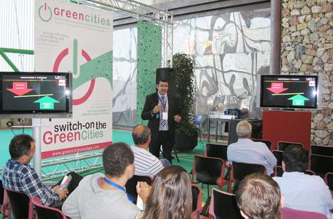 Greencities en feria de Málaga