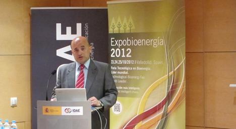 Fidel Pérez Montes, Director General del IDAE.