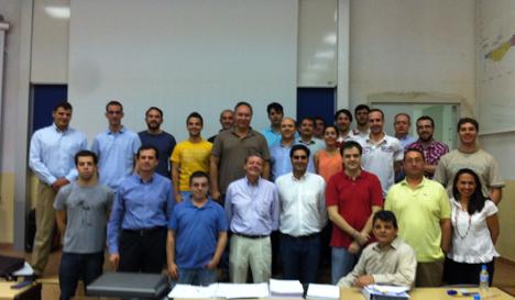 Alumnos del curso de Madrid