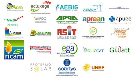 Logo de Asociaciones firmantes