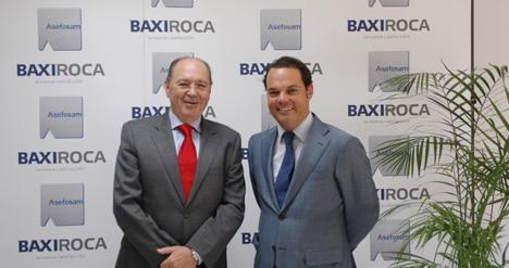 José María de la Fuente, ASEFOSAM, y Jordi Mestres, Baxiroca