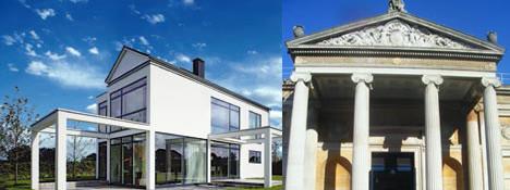 Figuras 3 y 4. Un sistema de control y automatización KNX puede instalarse tanto en viviendas o edificios de nueva construcción como en existentes, incluso de alto valor arquitectónico o histórico.