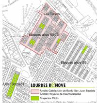 Plano del proyecto Lourdes Renove