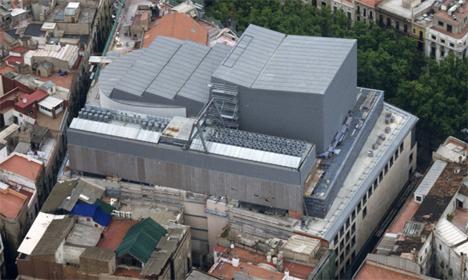Vista del Gran Teatre del Liceu