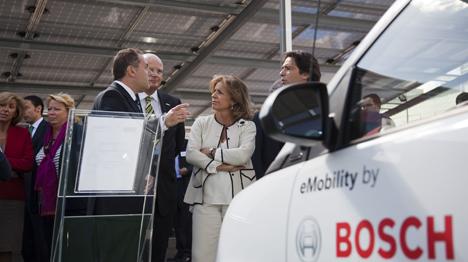 Recorrido por las instalaciones del Grupo Bosch