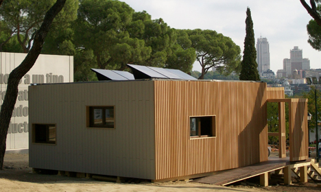 Casa de AS Solar en la Decathlon
