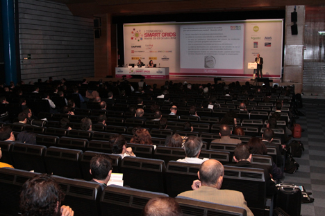Auditorio I Congreso Smart Grids.