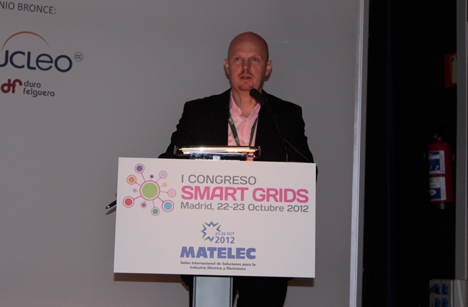 Stefan Junestrand, Director General del Grupo Tecma Red y Director del I Congreso Smart Grids