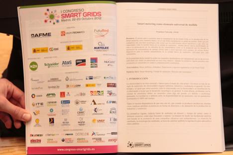 Libro elaborado con las comunicaciones presentadas para el primer congreso Smart Grids.