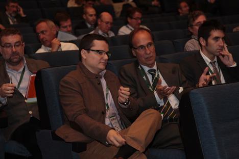Público asistente al I Congreso Smart Grids.