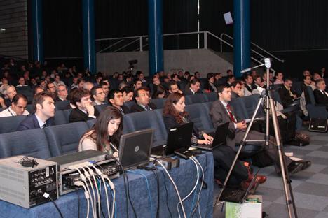 Público asistente al I Congres Smart Grids.