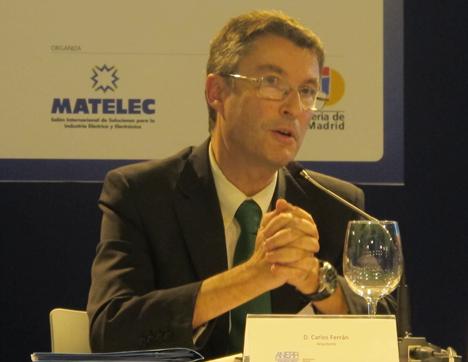 Josep Maria Peiró, Ingeniero Industrial y director de Marketing-Comunicación Industria e Infraestructura de Schneider Electric