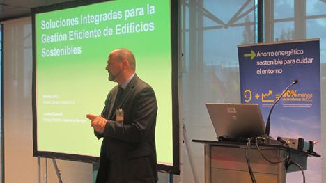 Laurent Dussart, responsable de Marketing de Eficiencia Energética de Schneider Electric