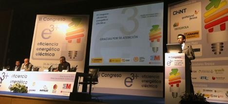 Junkers participando en el II Congreso de Eficiencia Energética Eléctrica