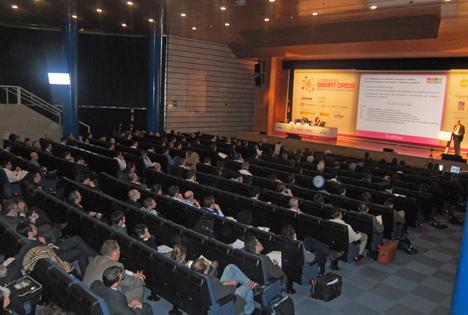 Celebración del I Congreso Smart Grids en el marco de Matelec 2012