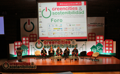 Mesa redonda en Foro de Greencities & Sostenibilidad, 3er Salón de la Eficiencia Energética y Sostenibilidad en Edificación y Espacios Urbanos