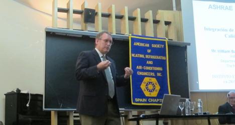 William Bahnflet, Presidente electo y Distinguish Lecturer de ASHRAE