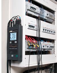 Registradores de potencia y energía PEL100