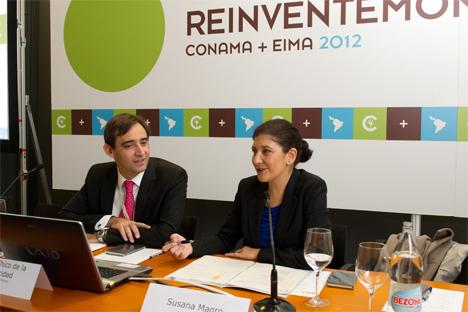 La directora de la Oficina de Cambio Climático, Susana Magro