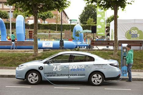 Ente Vasco de la Energía incluye el vehículo eléctrico entre las tecnologías energéticas que podrán desgravar impuesto en las empresas.