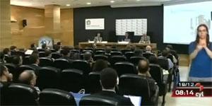 Jornada 'Ahorros garantizados en comunidades de vecinos' en Informativos de TV CyL