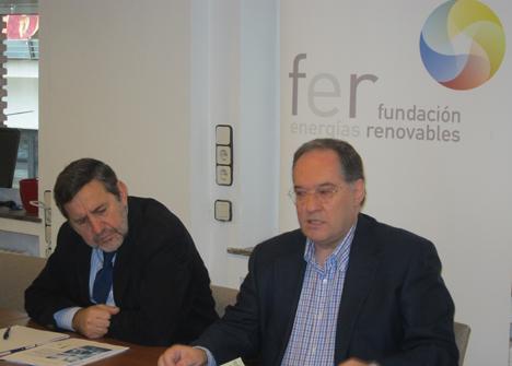 Sergio de Otto junto a Javier García Breva