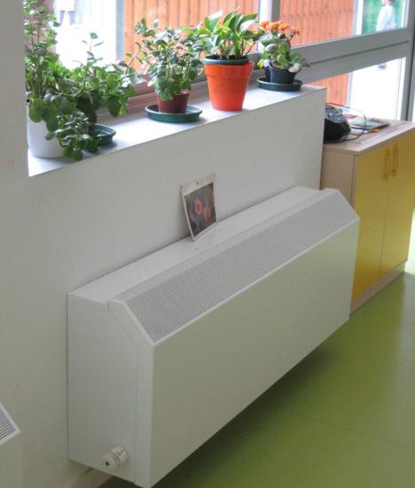 Los radiadores Low-H2O de Jaga con DBE en el Colegio de Educación Infantil y Primaria Antonio Relaño de Olula del Río (Almería)