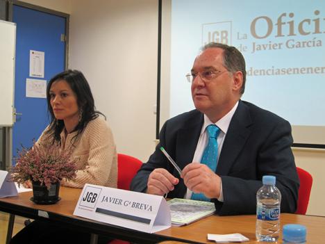 África Orenga y Javier Gª Breva