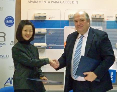 Acuerdo entre Chint Electric y ANERR